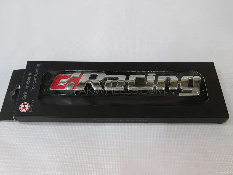 Grill Emblem - Racing  in Lahore