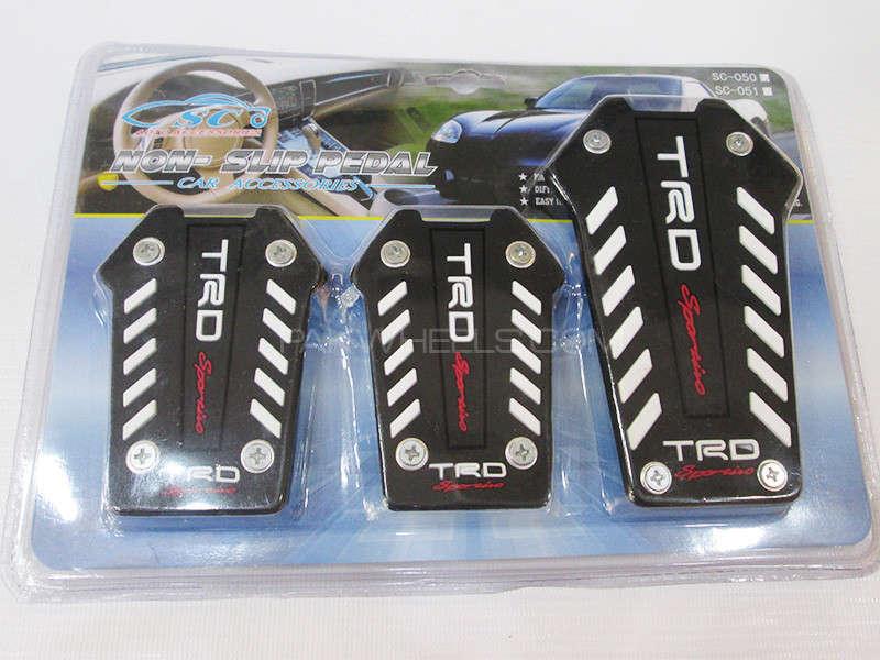 Brake Pedal Covers TRD - SC-050 Image-1