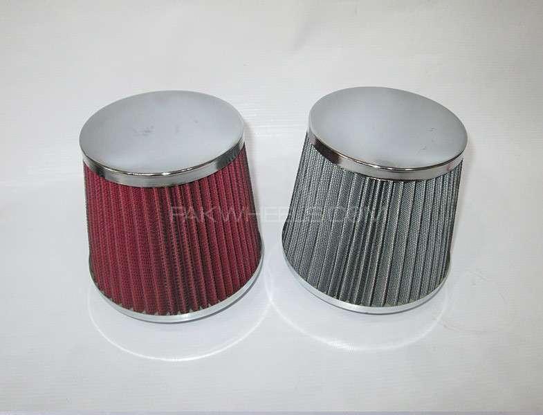 Air Intake Filter (Chrome Top) Image-1