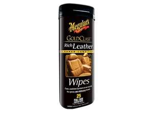 Meguiar's Gold Class Rich Leather Wipes - G10900 in Lahore