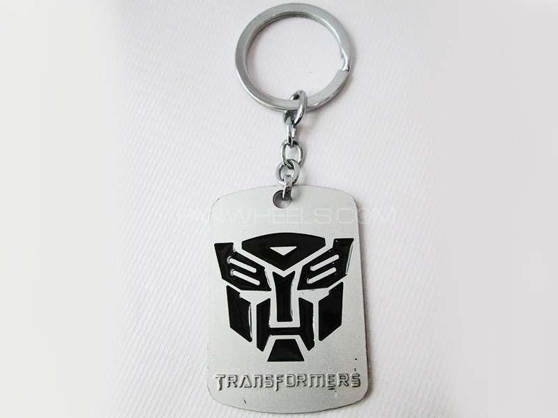 Transformer Key Chain - Black Image-1