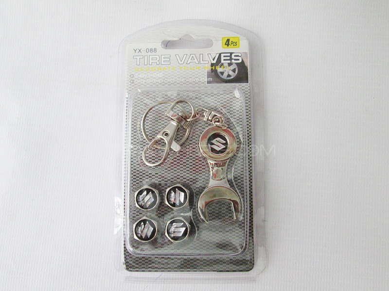 Valve Cap - Suzuki - With Opening Key Image-1