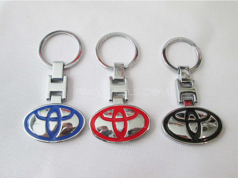 Key Chain - Toyota Logo Image-1
