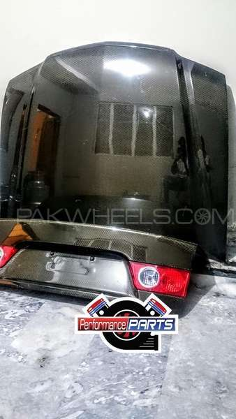 accord cl9/7 carbonfiber hood n trunk Image-1