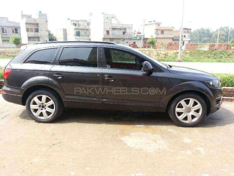 audi q7 3 0 tdi 2006 for sale in lahore pakwheels. Black Bedroom Furniture Sets. Home Design Ideas