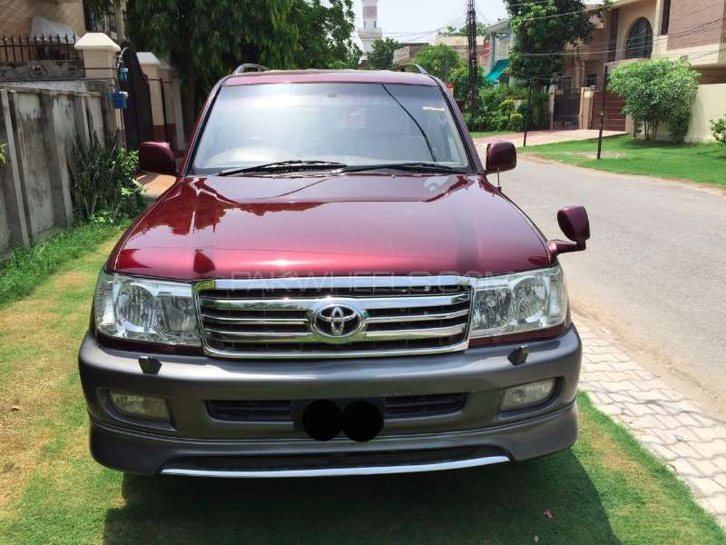 Toyota Land Cruiser VX Limited 4.2D 1998 Image-1
