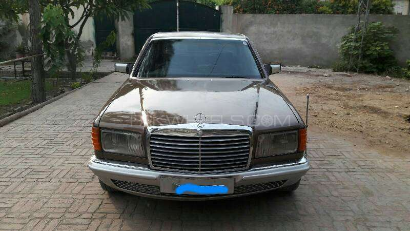 Mercedes benz s class s280 1980 for sale in peshawar for Mercedes benz s280 for sale