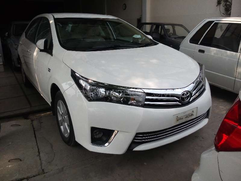 Toyota Corolla Altis Automatic 1 6 2016 for sale in Faisalabad