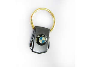 Key Chain BMW Golden Ring Pure Metal - PA10 in Lahore