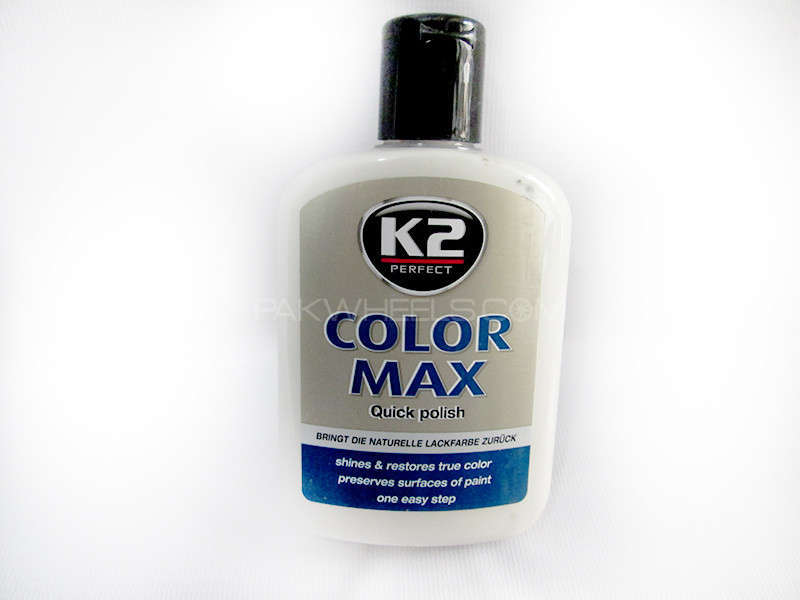 K2 COLOR MAX 200ml White - PA10 Image-1