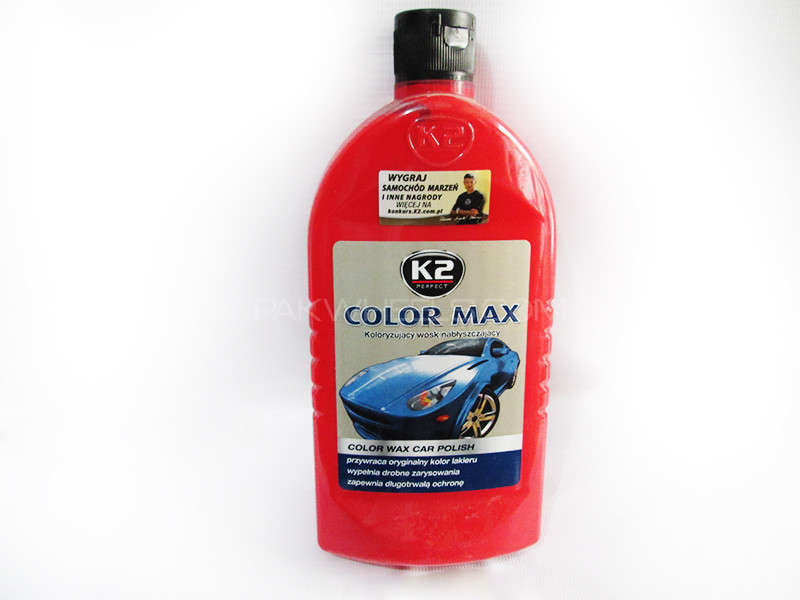 K2 COLOR MAX 500ml Red - PA10 Image-1