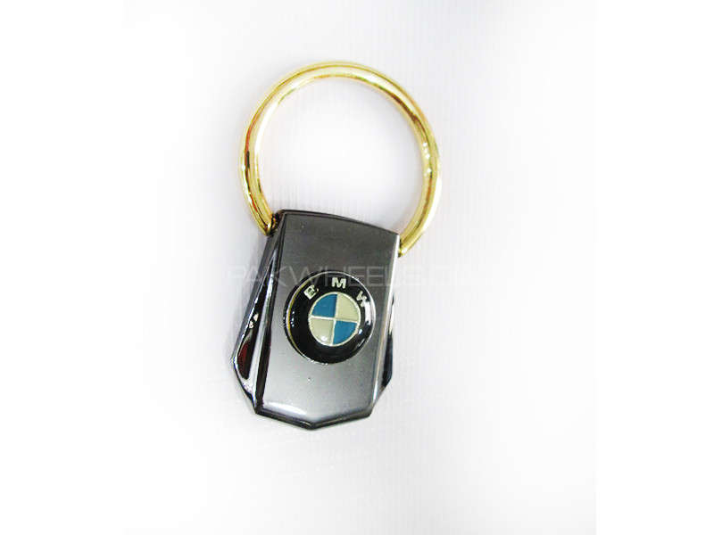 Key Chain BMW Golden Ring Pure Metal - PA10 Image-1