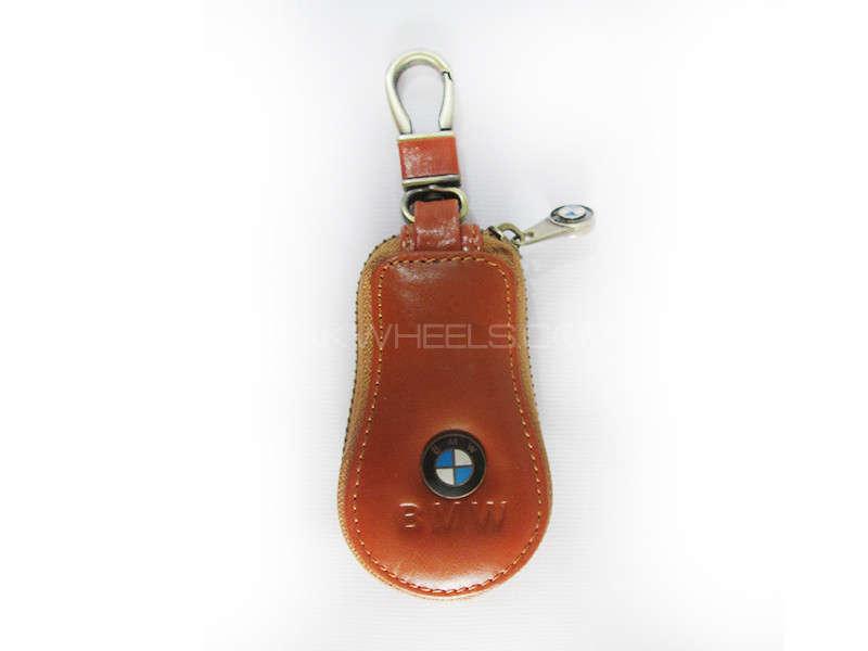 Key Chain BMW Leather Zip Box - PA10  Image-1