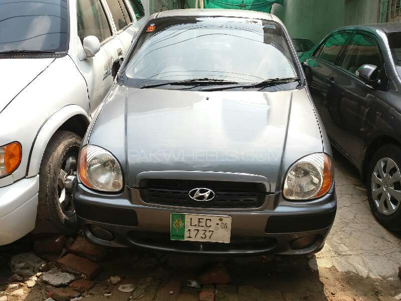 Hyundai Santro Club GV 2008 Image-1