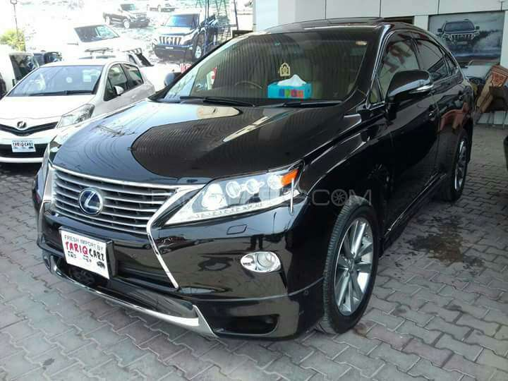 lexus rx series 450h 2013 for sale in lahore pakwheels. Black Bedroom Furniture Sets. Home Design Ideas