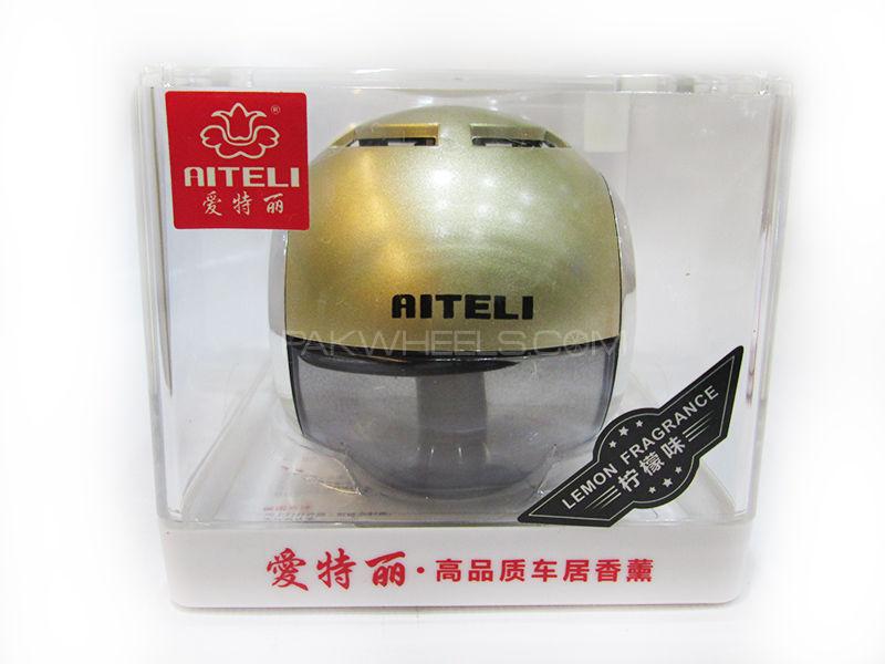 Air Freshener Round ATL-Lemon Image-1