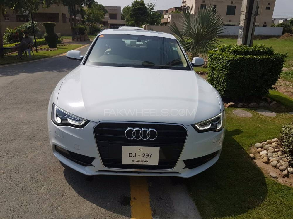 audi a5 1 8 tfsi 2015 for sale in lahore pakwheels. Black Bedroom Furniture Sets. Home Design Ideas