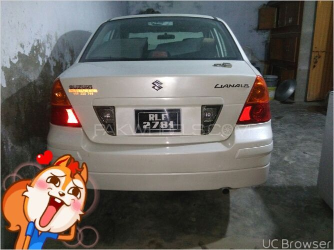 Suzuki Liana   Car Tax