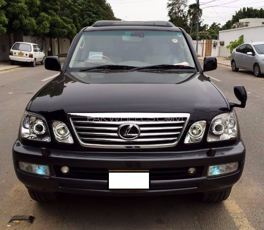 toyota land cruiser cygnus 2004 for sale in karachi. Black Bedroom Furniture Sets. Home Design Ideas
