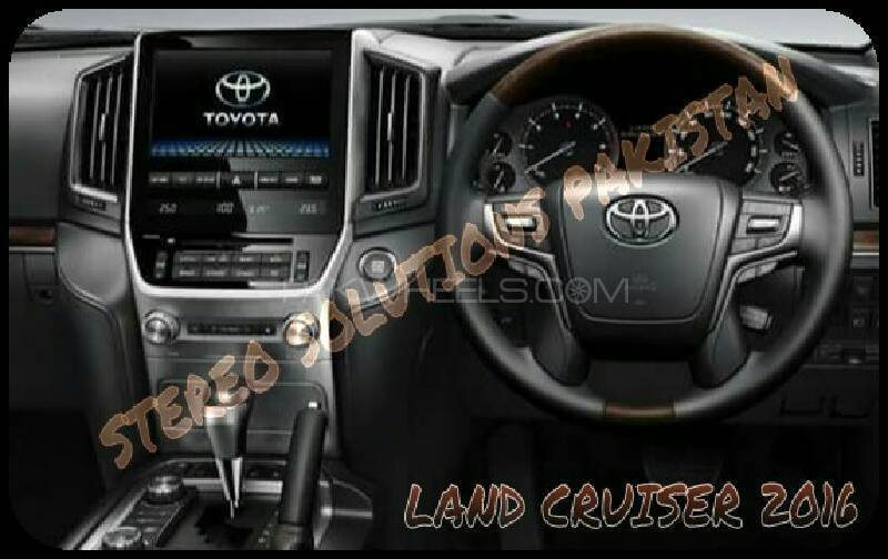 TOYOTA LAND CRUISER (2016) SD CARD SOFTWARE AVAILABLE. Image-1