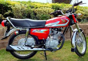 Honda CG 125 2016 for Sale in Lahore