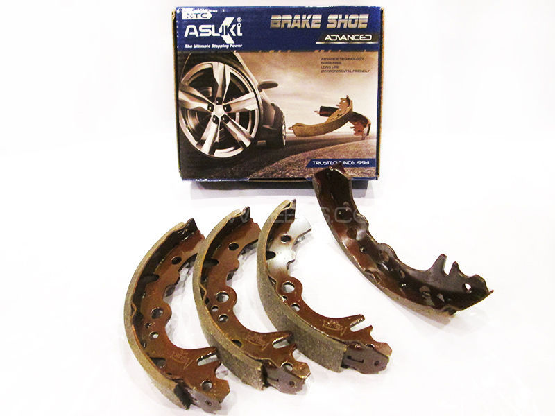 Suzuki Alto Japan Asuki Advanced Rear Brake Shoe A-9912 Image-1