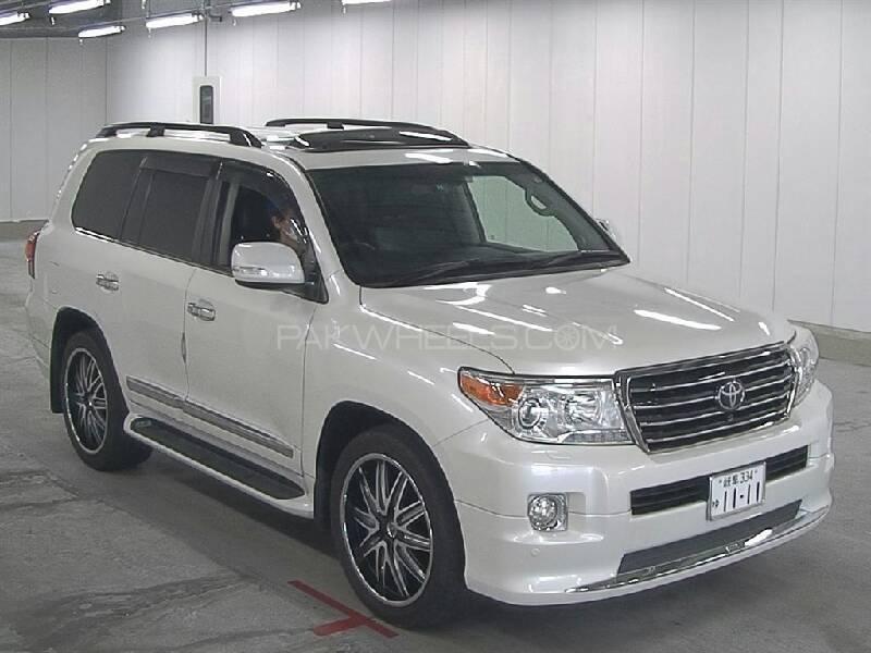 Toyota Land Cruiser ZX 2013 Image-1