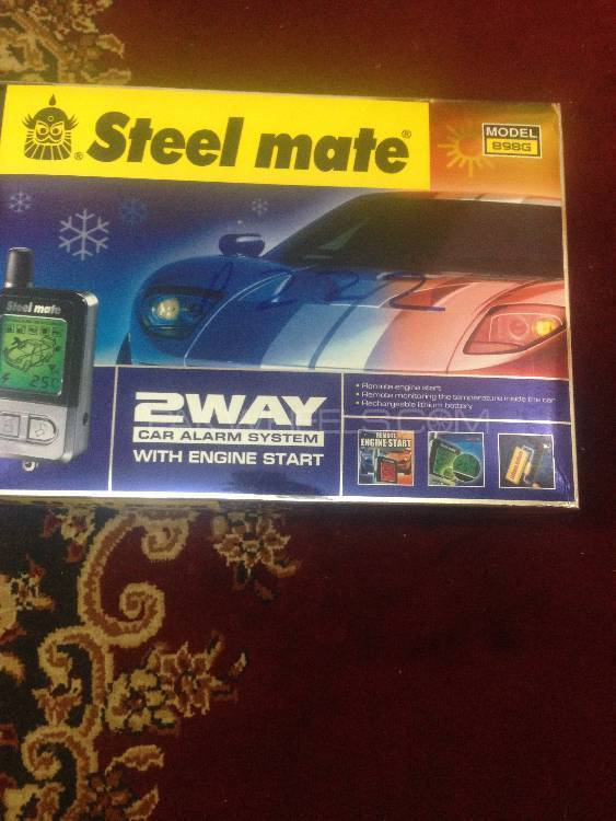 Steelmate(2way Car Alarm With Engine Starter)n mint conditn Image-1
