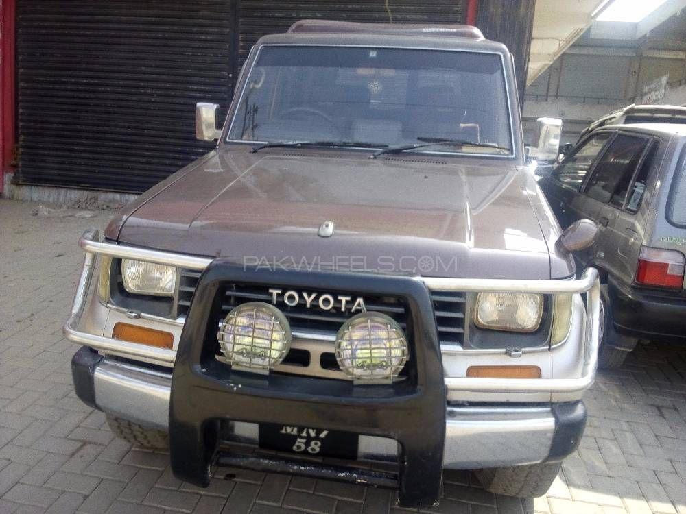 Toyota Prado TZ 3.0D 1992 Image-1