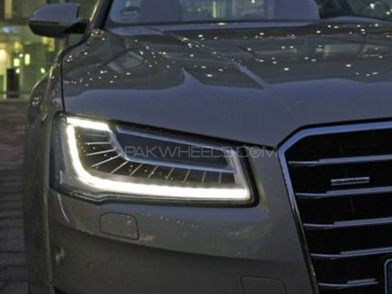 Audi Style DRL Flexible Light - With Indicator Image-1