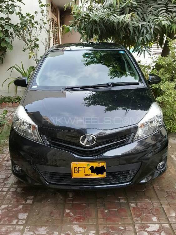 Toyota Vitz F Smile Edition 1.0 2013 Image-1