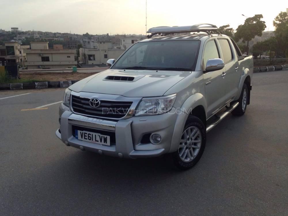 Toyota Hilux D-4D 2016 Image-1