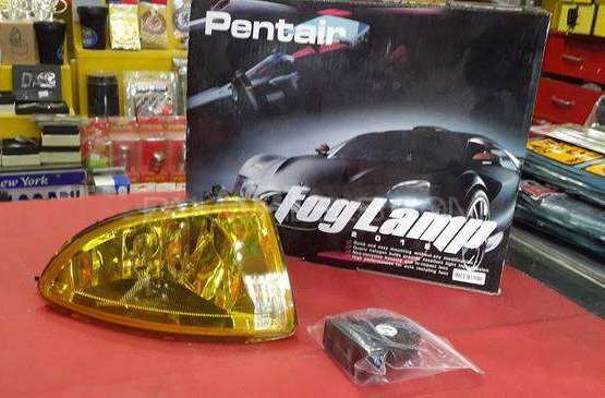 Civic Cf4 Jdm Yellow Fog Lamps  Image-1