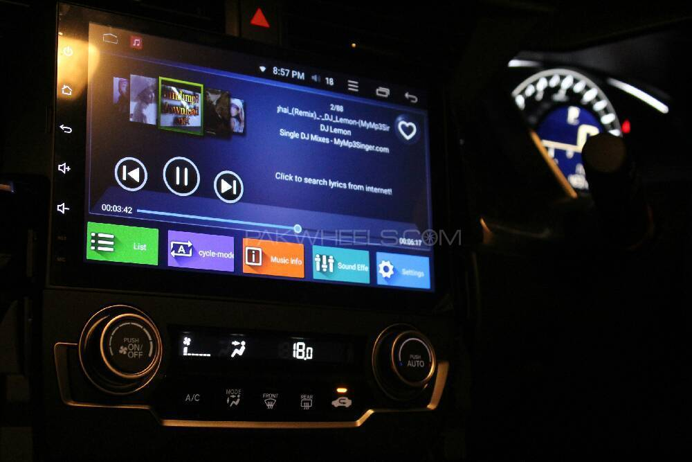 Infotainment Unit For Honda Civic 2016 Image-1