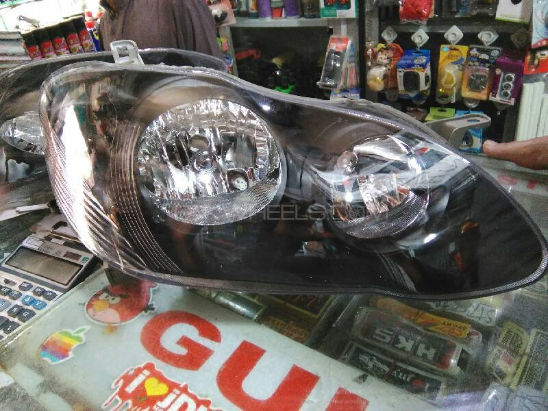 Toyota Corolla 2007 Front Projector Headlights For Sell Image-1