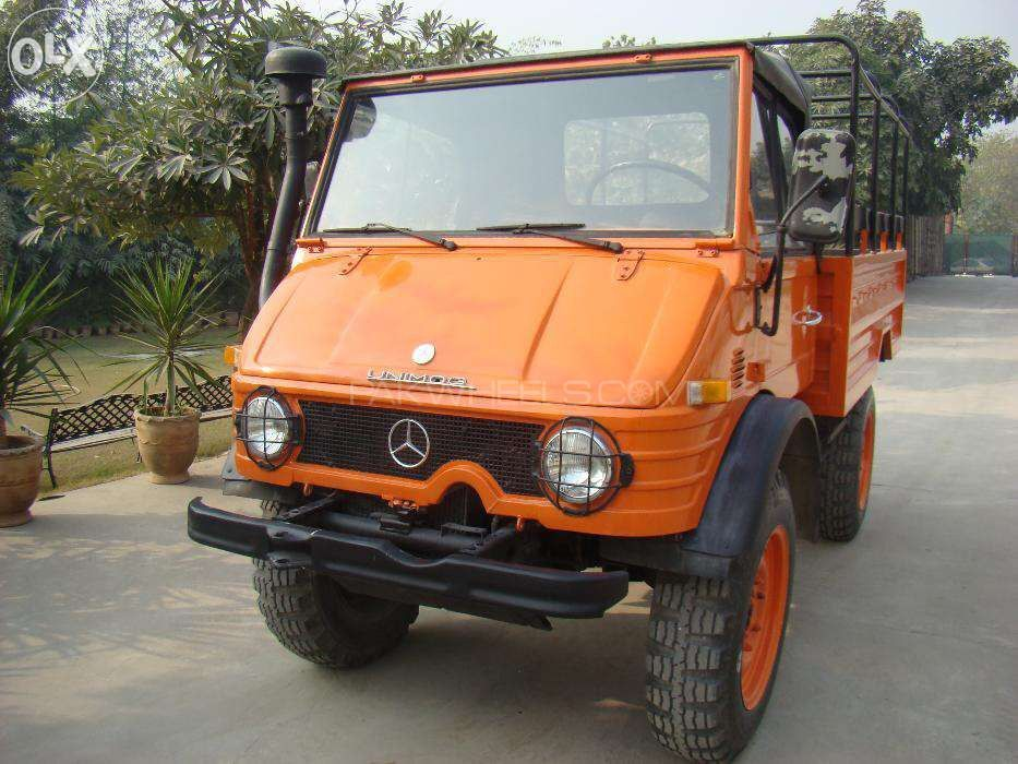 Mercedes benz unimog 1984 for sale in islamabad pakwheels for Mercedes benz unimog for sale