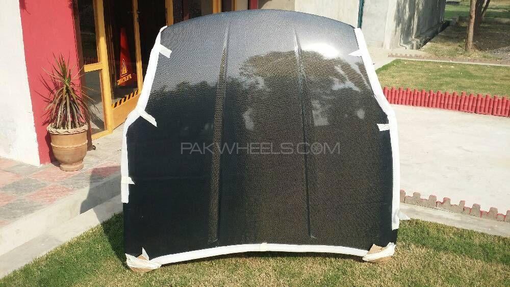 Oem style carbonfiber hood for nissan 350z Image-1