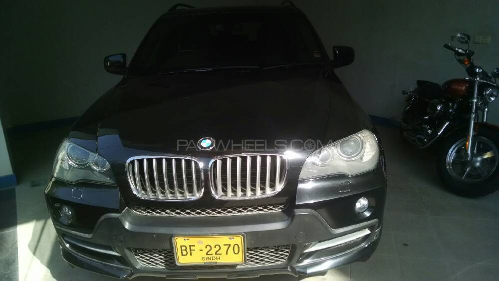 BMW X5 Series xDrive48i 2008 Image-1