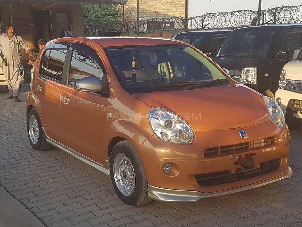 Toyota Passo + Hana Apricot Collection 1.0 2012 Image-1