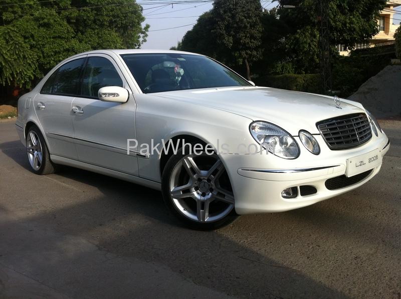 Mercedes benz e class e200cgi lim 2005 for sale in lahore for Mercedes benz e class 2005