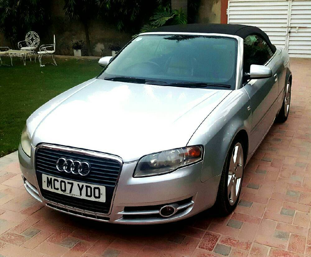 audi a4 2007 for sale in lahore pakwheels. Black Bedroom Furniture Sets. Home Design Ideas