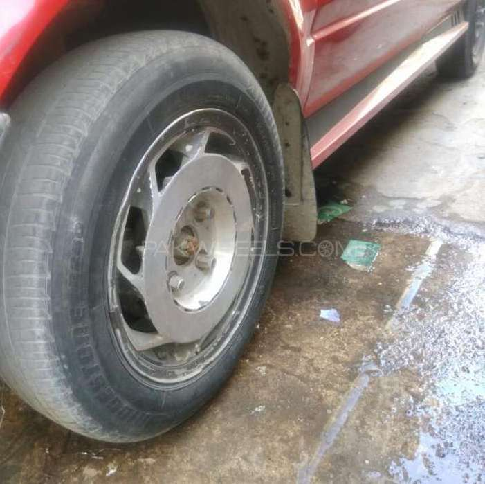 Alay rim with tyres Image-1