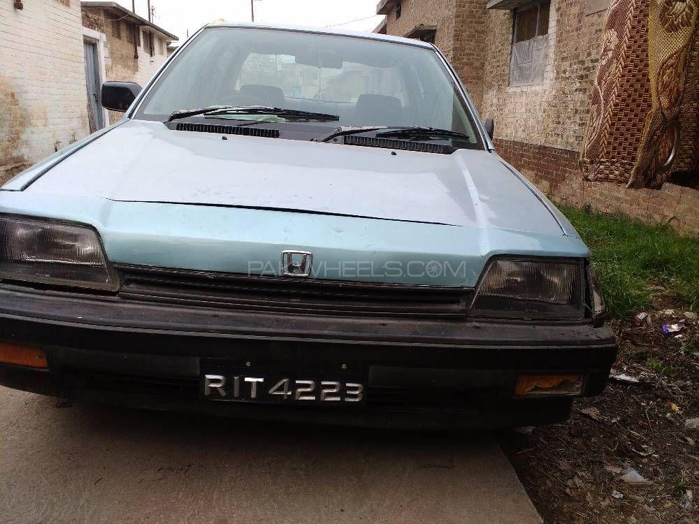 Honda Civic EX 1986 Image-1