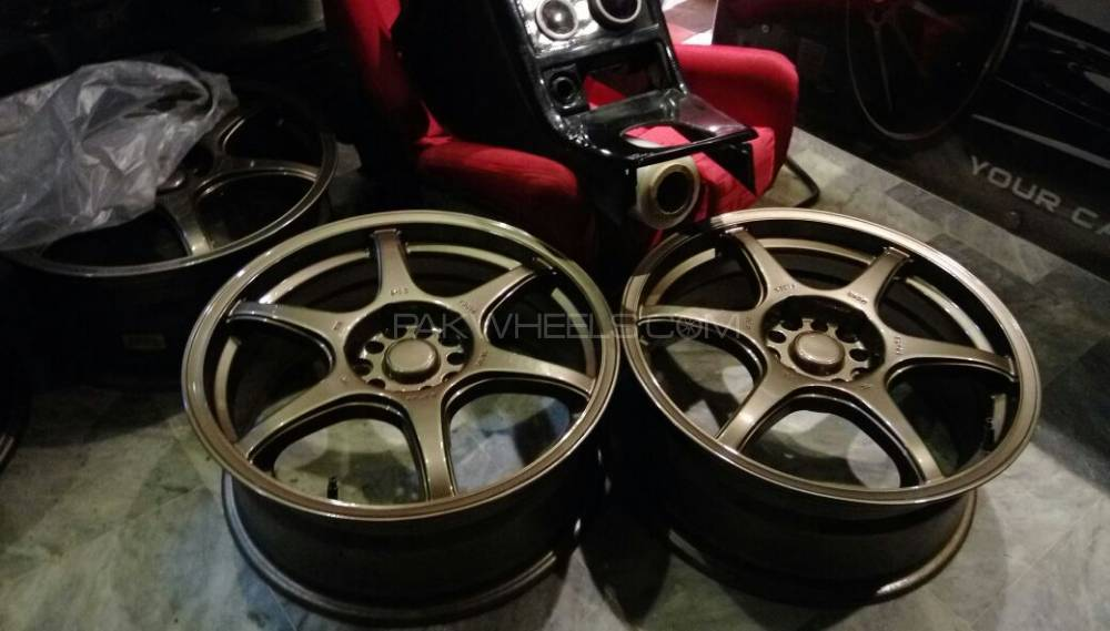 lenso dc6 17inch rims Image-1