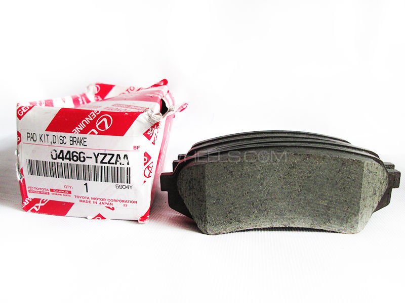 Toyota Prado TX Genuine Rear Brake Pads 2003-2016 Image-1