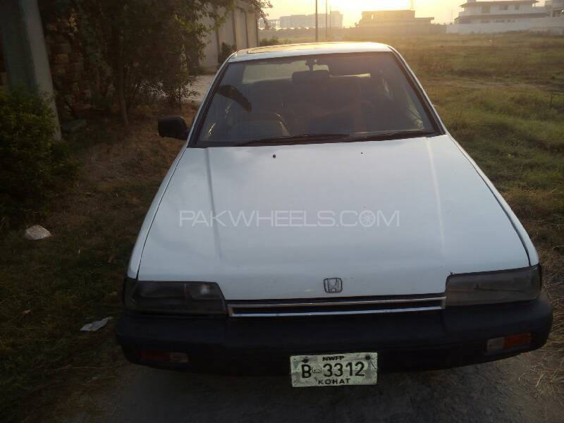 Honda Accord EX 1987 Image-1