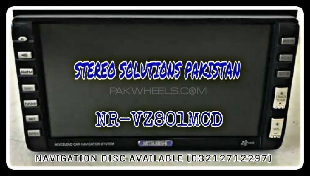 NR-VZ801MCD NAVI DISC AVAILABLE.  Image-1