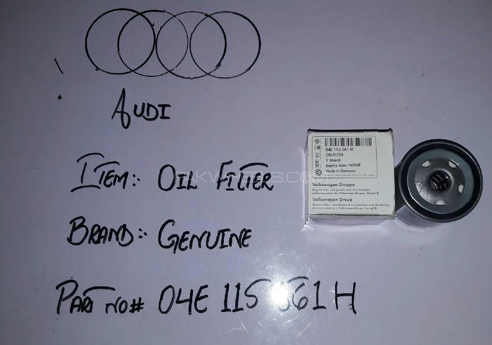AUDI  : OIL FILTER Image-1