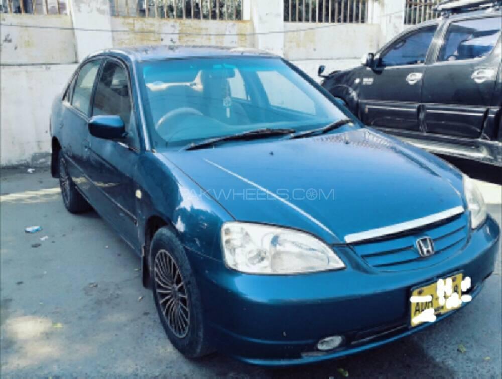 Honda Civic VTi Automatic 1.6 2001 Image-1
