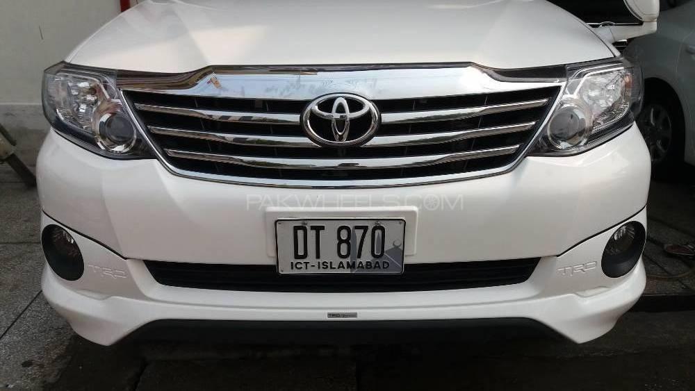 Toyota Fortuner 2.7 VVTi 2015 Image-1